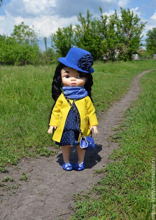 Одежда для кукол ручной работы. Ярмарка Мастеров - ручная работа. Купить № 046 Комплект с пальто  для куклы Дисней/Disney.. Handmade.
