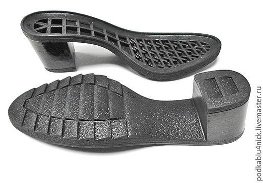 Другие виды рукоделия ручной работы. Ярмарка Мастеров - ручная работа. Купить Подошва для обуви Скарлет. Handmade. Черный
