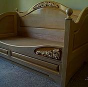 Для дома и интерьера handmade. Livemaster - original item Sofa bed made of beech Tenderness. Handmade.