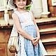 Одежда для девочек, ручной работы. Заказать Комплект винтажный. Анастасия Курбатова (anastakurbatova). Ярмарка Мастеров. Кружевное платье, кружево хлопковое