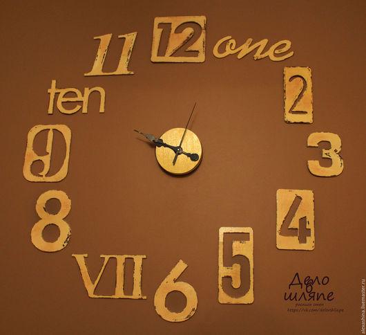 Часы для дома ручной работы. Ярмарка Мастеров - ручная работа. Купить Часы - подарок 90 см. Handmade. Белый