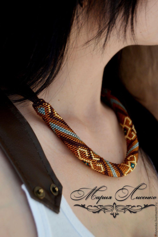 схема из бисера японское ожерелье