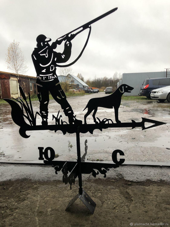 Охотник с собакой, Флюгер, Череповец,  Фото №1