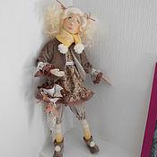 Куклы и игрушки ручной работы. Ярмарка Мастеров - ручная работа На прогулку с зонтиком. Handmade.
