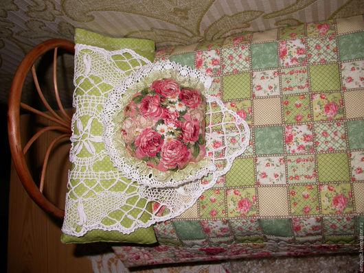Кукольный дом ручной работы. Ярмарка Мастеров - ручная работа. Купить Кроватка кукольная Цветы и кружева. Handmade. Кукольная кроватка