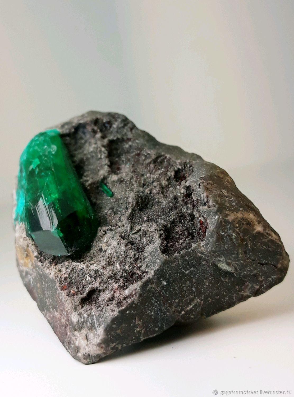 Диоптаз ( кристаллы) Tantara Mine, Haut-Katanga.Конго, Минералы, Санкт-Петербург,  Фото №1