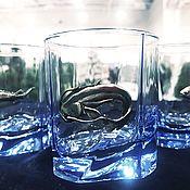 Сувениры и подарки handmade. Livemaster - original item Set of glasses for whiskey