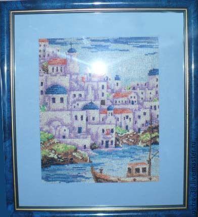 `Турецкий берег` вышитая картина