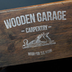 Wooden-garage - Ярмарка Мастеров - ручная работа, handmade