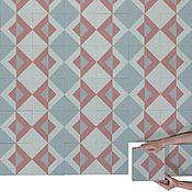 Дизайн и реклама ручной работы. Ярмарка Мастеров - ручная работа Дизайнерская цементная плитка ручной работы. Handmade.