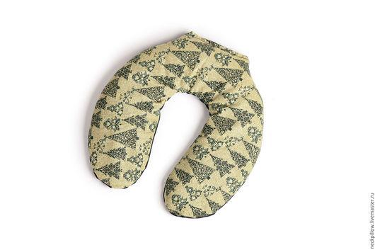 Персональные подарки ручной работы. Ярмарка Мастеров - ручная работа. Купить МЯТА-ШАЛФЕЙ Греющая/охлаждающая подушка для шеи. Handmade. Зеленый