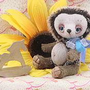 """Куклы и игрушки ручной работы. Ярмарка Мастеров - ручная работа друзья тедди """"Ежик"""". Handmade."""