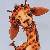Куклы и игрушки ручной работы. Ярмарка Мастеров - ручная работа Жирафочка Christmas Fresh ADOPTED. Handmade.
