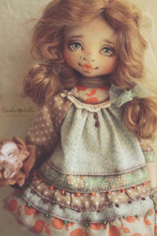 Коллекционные куклы ручной работы. Ярмарка Мастеров - ручная работа. Купить Лисичка. Handmade. Рыжий, лето, полимерная глина