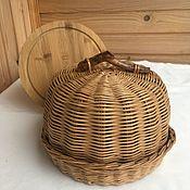 Для дома и интерьера handmade. Livemaster - original item basket: Cloche for bread. The bread wicker. Handmade.