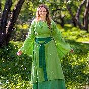 Субкультуры ручной работы. Ярмарка Мастеров - ручная работа женский костюм 14 век. Handmade.