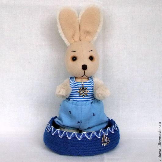 Мишки Тедди ручной работы. Ярмарка Мастеров - ручная работа. Купить Зайчик Потап. Handmade. Бежевый, зайчик игрушка, синтепух