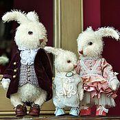 Куклы и игрушки handmade. Livemaster - original item Friends Teddy. The author`s work. Happy family.. Handmade.