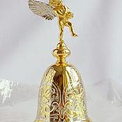 """Колокольчики ручной работы. Ярмарка Мастеров - ручная работа Колокольчик """"Ангелок"""". Handmade."""