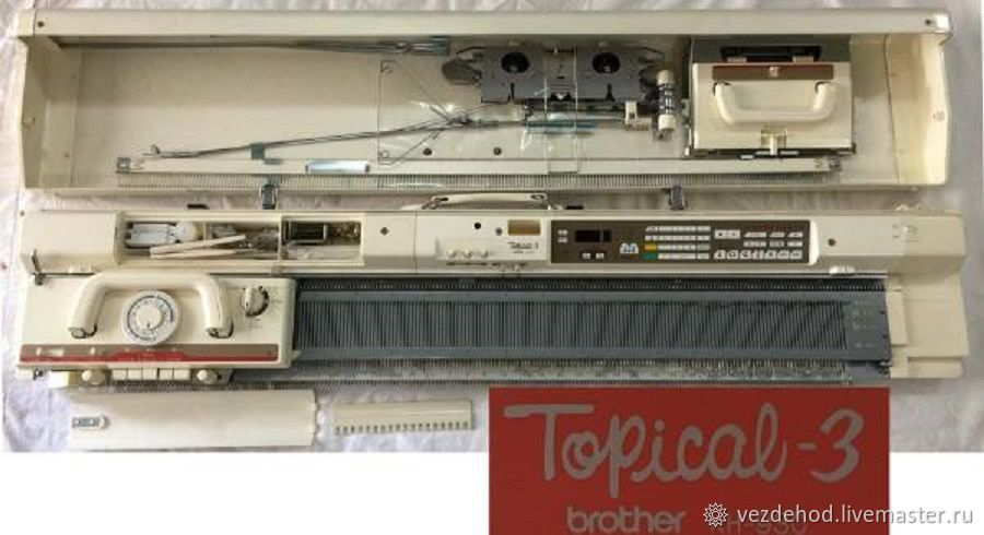 Даром Вязальная машина Бразер КН 930 / 840  Япония электронная – купить в интернет-магазине на Ярмарке Мастеров с доставкой - IXHPHRU | Зеленоград