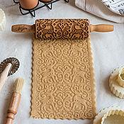 Для дома и интерьера handmade. Livemaster - original item SILVER HOOF - Engraved rolling pin Texturra. Handmade.