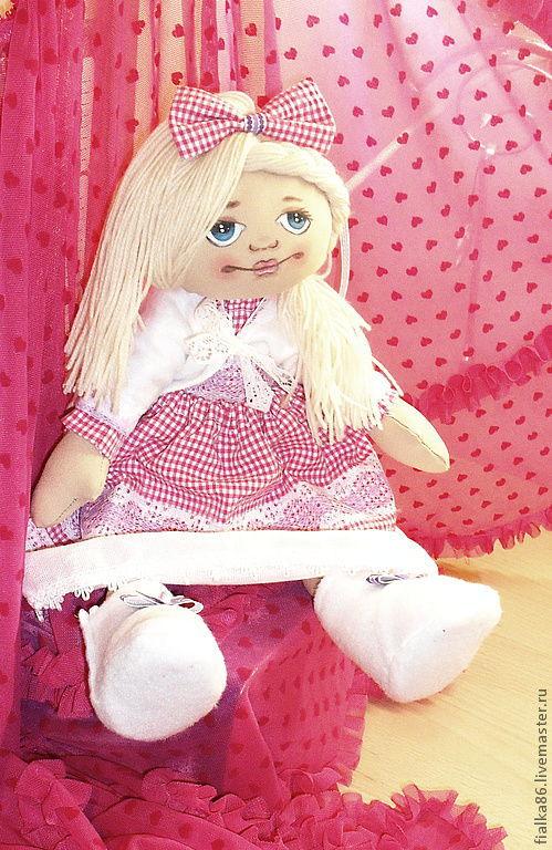Коллекционные куклы ручной работы. Ярмарка Мастеров - ручная работа. Купить куклы большеножки Милаша и Алина. Handmade. снежная девочка