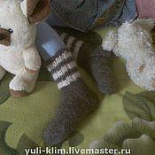 Аксессуары ручной работы. Ярмарка Мастеров - ручная работа пуховые носки. Handmade.
