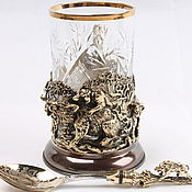 Посуда handmade. Livemaster - original item Cup holder