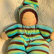 Вальдорфские куклы и звери ручной работы. Ярмарка Мастеров - ручная работа малыш просяной. Handmade.