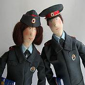 Куклы и игрушки ручной работы. Ярмарка Мастеров - ручная работа Полицейские. Два майора.. Handmade.