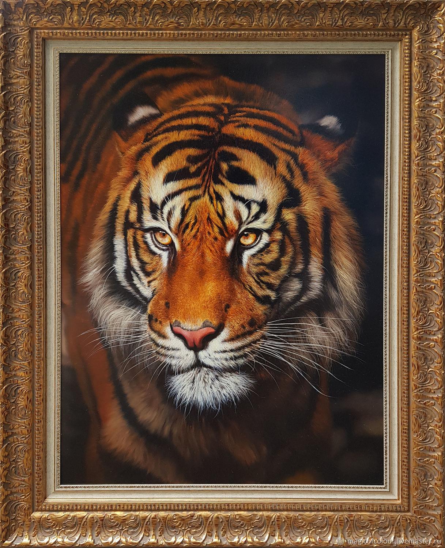 Тигр, Картины, Москва,  Фото №1