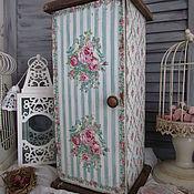"""Для дома и интерьера ручной работы. Ярмарка Мастеров - ручная работа Шкаф """"Розовый сад"""". Handmade."""