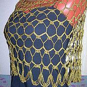 """Одежда ручной работы. Ярмарка Мастеров - ручная работа Пончо-накидка """"Легкость бытия"""". Handmade."""