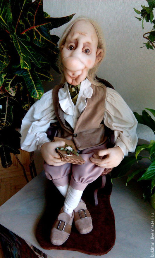 Коллекционные куклы ручной работы. Ярмарка Мастеров - ручная работа. Купить Неотправленные письма. Handmade. Бежевый, интерьерная кукла