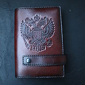 Канцелярские товары handmade. Livemaster - original item Leather diary