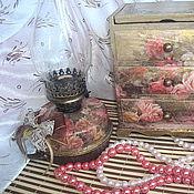 Для дома и интерьера handmade. Livemaster - original item Lamp and dresser Roses. Handmade.
