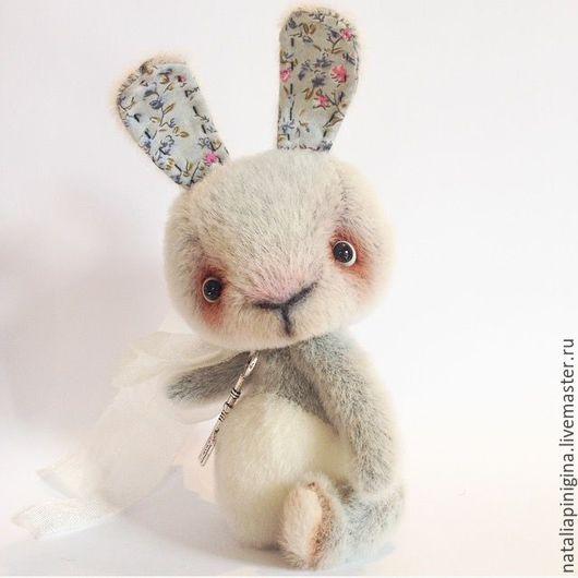 Мишки Тедди ручной работы. Ярмарка Мастеров - ручная работа. Купить Заяц. Handmade. Серый, тедди, друзья тедди, синтепух