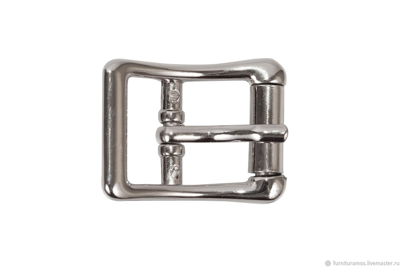 Пряжка 21 мм, никель, Фурнитура для шитья, Москва, Фото №1