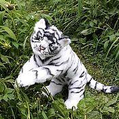Stuffed Toys handmade. Livemaster - original item Tiger Teddy. Handmade.