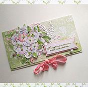 Открытки handmade. Livemaster - original item !Envelope for money gift Envelope for denegada.Svetlolobovo!. Handmade.