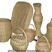 Для дома и интерьера ручной работы. Ярмарка Мастеров - ручная работа корзины. Handmade.