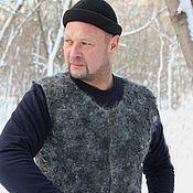 Одежда ручной работы. Ярмарка Мастеров - ручная работа Жилет валяный Викинг. Handmade.