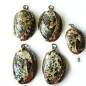 Материалы для творчества handmade. Livemaster - original item Haliotis Glabra shell pendants. Handmade.