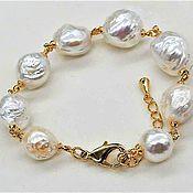 Украшения handmade. Livemaster - original item Kasumi natural pearl bracelet. Handmade.