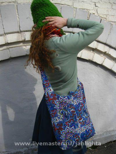 Bilateral bag 'over the shoulder', 'Water mosaic', Crossbody bag, Abakan,  Фото №1