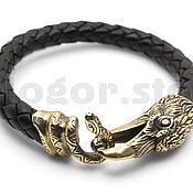 Украшения handmade. Livemaster - original item Wise Raven bracelet bronze. Handmade.