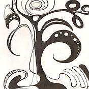 Картины и панно ручной работы. Ярмарка Мастеров - ручная работа Древо жизни. Handmade.