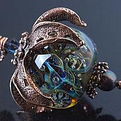 """Украшения ручной работы. Ярмарка Мастеров - ручная работа Кулон """"Звездопад"""". Handmade."""