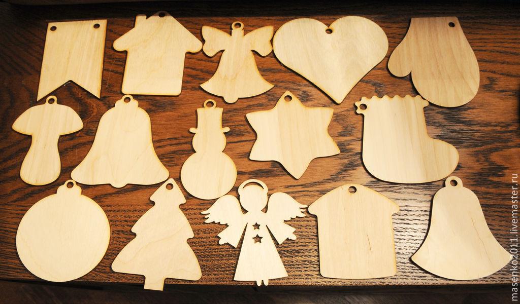 Как украсить деревянную заготовку