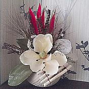 Для дома и интерьера ручной работы. Ярмарка Мастеров - ручная работа Сухоцветные композиции. Handmade.
